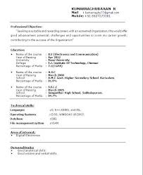 format cv different resume formats the 25 best resume format for freshers