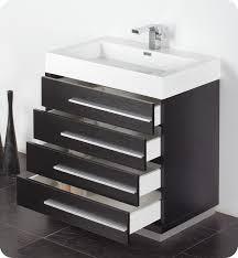 Black Bathroom Cabinet 30 Inch Black Modern Bathroom Vanity