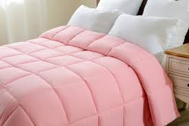 super oversized high quality down alternative comforter fits super oversized high quality down alternative comforter fits pillow top beds pink