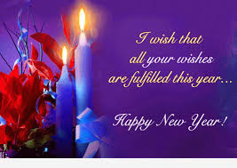 wishes for the new year messages