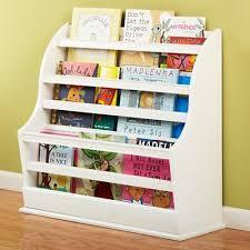 book storage kids kids white floor book bin land of nod