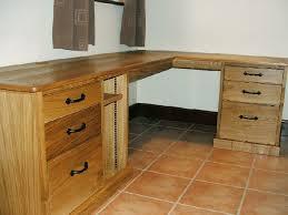 Corner Oak Desk Oak Corner Desk