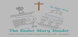 free easter story reader prek 2nd grade free homeschool