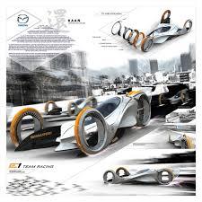 mazda car line mazda kaan u201d futuristic electric car concept to compete the e1