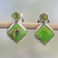 peridot earrings peridot earrings unique peridot earrings at novica