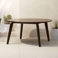 Expandable Bistro Table Unique Modern Dining Tables Cb2