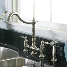 delta brushed nickel kitchen faucet fashionable 2 handle kitchen faucet single hole dual handle kitchen