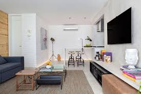 Brazilian Interior Design by Small And Refined Contemporary Apartment In Rio De Janeiro