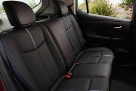 nissan leaf 2017 interior 2018 nissan leaf makes north american debut prices start at