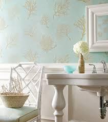 coastal chic vinyl wallpaper coral gables and bath