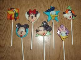 lollipop party favors mickey mouse and friends set of 7 chocolate lollipops party favors