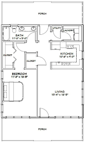 cabin plans with garage 28x32 house 28x32h1 895 sq ft excellent floor plans log