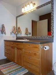 Framed Bathroom Mirror by Diy Tile Mirror Frame I U0027ve Been Wanting To Do This To Our Master