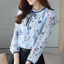 floral chiffon blouse 2017 floral printed chiffon blouse buy floral printed