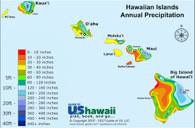 Climate Map Hawaii Weather And Climate Patterns