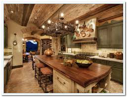 Mediterranean Kitchen - tuscany designs as mediterranean kitchen ideas home and cabinet