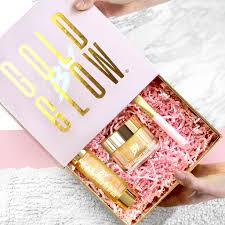 gift sets 24k gold skin treatment gift set by gold by glow