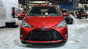 toyota auris suv 2018 toyota yaris shows updated looks in new york