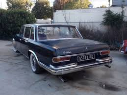 600 mercedes for sale one of 273 in rhd 1966 mercedes 600 swb running project