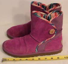 womens ugg leona boots ugg australia pull on multi colored boots for ebay
