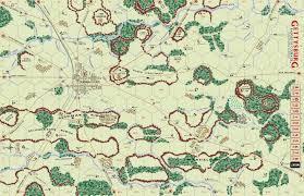 Battle Of Gettysburg Map Gettysburg Badges Of Courage