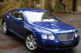 bentley coupe blue bentley