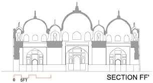 floor plan of a mosque heritage360 pk masjid khudabad floor plans