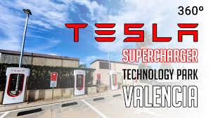 valencia lexus service hours tesla supercharger technology park paterna valencia spain