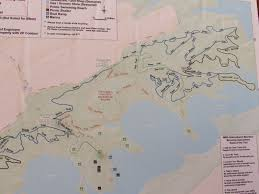 Bent Creek Trail Map Raystown Lake Visitor Center And Allegrippis Mountain Biking