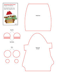 4 best images of printable craft patterns free christmas felt