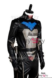 Halloween Costumes Nightwing Young Justice S2 Nightwing Uniform Jumpsuit Cosplay Costume