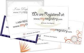 baby registry cards baby registry myregistry