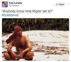 Migos Meme - hilariously petty fyrefestival memes migos bossip