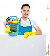 cleaning service with white board stock images image 30014364