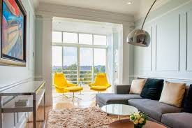 Swivel Sofas For Living Room Yellow Swivel Chairs And Grey Sofa For Modern Living Room