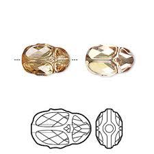 swarovski scarab bead 5728 beads fire mountain gems and beads