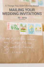 mailing wedding invitations 5 things you didn t about mailing wedding invitations loverly