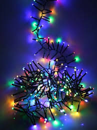 two tone mini christmas lights led cluster christmas lights