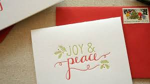 christmas cards ideas christmas calligraphy cards diy projects craft ideas how to s for