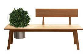 Teak Stainless Steel Outdoor Furniture by Tiera U0027 Halfback Bench In Teak Features A Narrow Backrest And A Cut