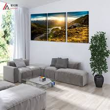 online get cheap abstract city paintings aliexpress com alibaba home decor canvas painting abstract city street landscape decorative paintings modern wall pictures 3 panel wall