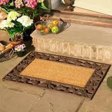 Cast Iron Doormat Traditional Rectangular Outdoor Cast Iron Doormat Rugs