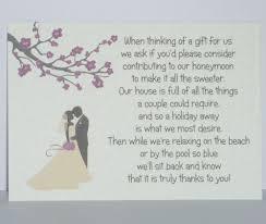 Money Wedding Gift Gift Poems For Wedding Invitations Invitation Ideas
