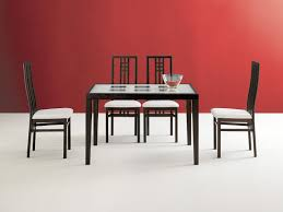 Wenge Living Room Furniture Table And Scala Chairs Wenge And Cherry Modern Casual