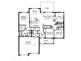 split bedroom floor plans eplans craftsman house plan open floor plan with split bedrooms