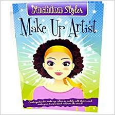 make up artist books publishing fashion styler sticker book make up artist