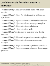 Porter Resume Sample by Collection Representative Sample Resume Collection Representative