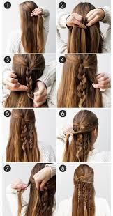 tutorial menata rambut panjang simple 7 trik menata rambut cewek paling simple dengan hasil spektakuler