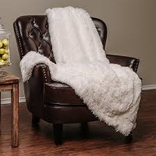 Fluffy Armchair Chair Throw Amazon Com