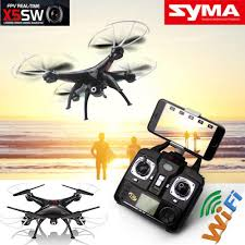 Radio Control Helicopters With Camera Syma X5sw 6 Axis Quadcopter Drone Wifi 2 0 Mp Camera Fpv Rc